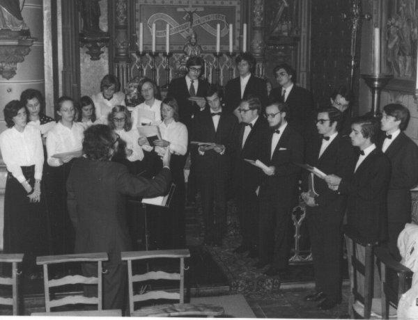 Gents Jeugdkoor in 1972