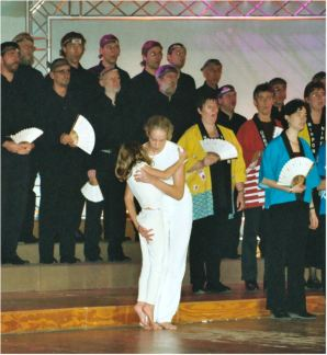 "Het begin van de ""eight Japanese folk-songs"""