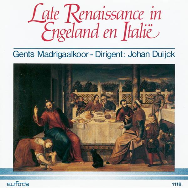 Late Renaissance in Engeland en Italië