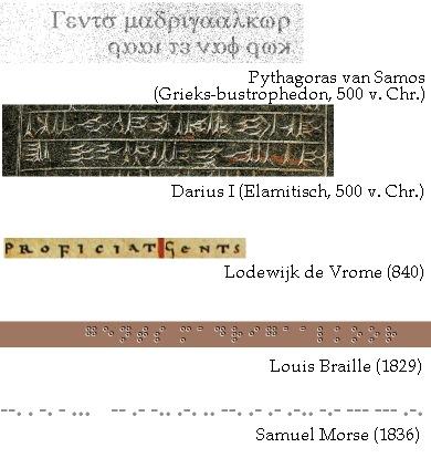 de oudheid is vergeven van referenties naar beroemde koren