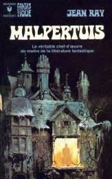 Titelpagina van een editie van Malpertuis van Jean Ray