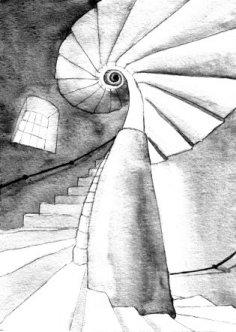 De wenteltrap, volgens Pascale Vervenne