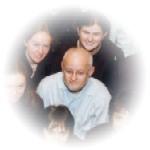 Marc op de koorfoto van 1999