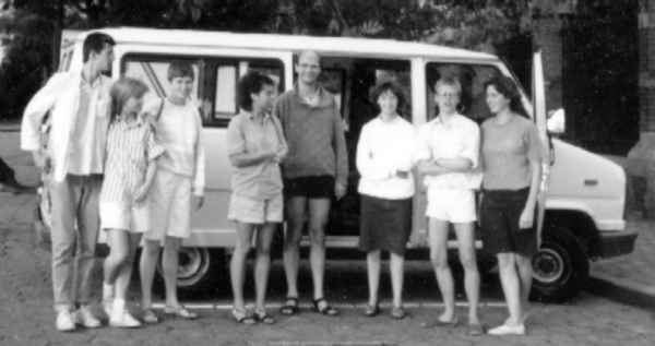 Met de pianoklas en een minibusje naar Hongarije