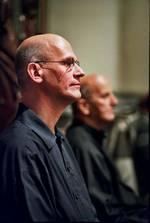 Johan Duijck zit naast László Heltay