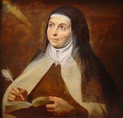Sint-Teresia door P.P. Rubens