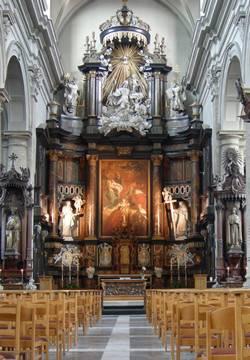 interieur karmelietenkerk Burgstraat Gent © GMK